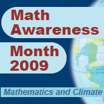 news-imageMath Awareness Month 2009 logo
