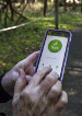 news-imageA birdwatcher launches the eBird app to record her sightings at the District of Columbia's Rock Creek Park. With the app, Cornell Lab collects millions of sightings.